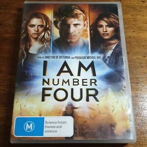 I Am Number Four DVD R4 LIKE NEW FREE POST