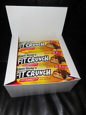 Chef Robert Irvine FortiFX - Fit Crunch Protein Bars,Peanut Butter,9 Bars  4/19