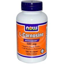 Now Foods L-Carnosine 500 mg 100 Veg Caps