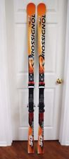 New listing Rossignol Research World Cup Sg Race Skis 184 Cm With Rossignol 120 Bindings
