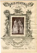 Lemercier, Paris-Portrait, Dosne, Meria-Mussa, Galatsin et Marie Tayau, Quatuor