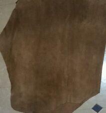 Cow Hide cuoio foglio, in pelle scamosciata dimensioni del foglio 2 × 2 piede quadrato circa