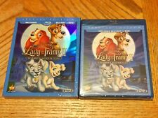 Disney Blu Ray Sealed W/ Slipcover Lady And The Tramp II 2 Scamp's Adventure New