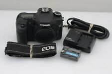 EXC++ CANON EOS 40D 10.1MP DSLR BODY, BATT+CHARGER ONLY 9058 ACTS! TESTED