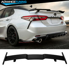 Fits 18-20 Toyota Camry Rear Spoiler Abs Matte Black