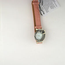 Noa Zuman Sterling Silver 925 Leather Band Israel Watch Parts Not Working