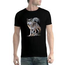 Loup Pleine Lune Homme T-shirt XS-5XL