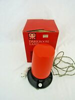 PATERSON SAFELIGHT DARK ROOM LAMP vintage boxed M1