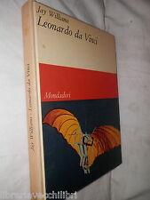 LEONARDO DA VINCI Bates Lowry Mondadori 1966 libro di scritto da immagini foto