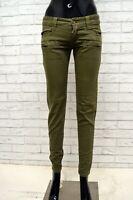 Jeans ICEBERG Donna Taglia Size 40 Pantalone Pants Woman Slim Skinny Fit Cotone