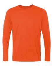 """Gildan Performance Long Sleeve Shirt 42400 S-3XL Moisture Wicking """"Cotton Feel"""""""