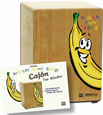 Cajon für Kinder - Bundle aus Cajon und Buch