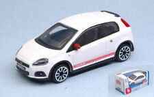 Fiat Grande Punto Abarth 2014 White 1:43 Model Bburago