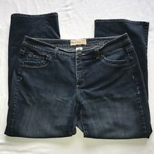 WOMENS JUST MY SIZE JEANS SZ 18W SHORT BOOT LEG STRETCH