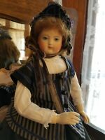 Antique Style Silk Dress, Hat for your 15 In Huret, Barrois, French Fashion Doll