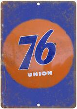 76 Union Gasoline Oil Porcelain Look Reproduction Metal Sign U124