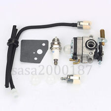 Carburetor for ECHO SRM2000 SRM2200 12300040630 Primer bulb Fuel filter line kit