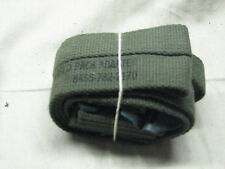 US military strap assembly field pack adapter vintage canvas M56 web accessory