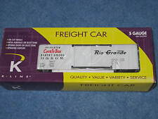 2004 K-Line S Gauge K511-008 D&RGW Rio Grande Cookie Box Box Car L2148