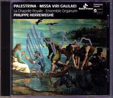 Philippe HERREWEGHE Signiert PALESTRINA Missa Motet Viri Galilaei Magnificat CD