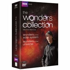THE WONDERS COLLECTION dvds SEALED/NEW  of the solar system/universe Brian Cox