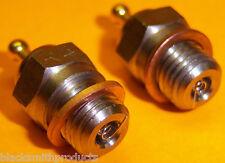 2 X 1.2 V Rc Nitro Modelo Motor número 3 bujías de 12 a 28