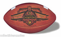 FLORIDA STATE 2013 CHAMPIONS LEATHER GAME FOOTBALL LIMITED EDITION - ON SALE
