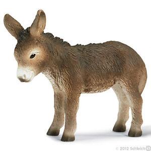 NEW SCHLEICH 13268 Donkey Foal - Farm Horse - RETIRED