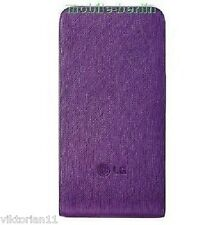 Original LG Étui Housse Violet sac en cuir pour téléphone portable kp500 ku990 km900 kf750 bl20 etc