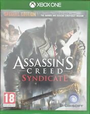 XBOX ONE ASSASSINS CREED SYNDICATE  GAME GOOD CONDITION