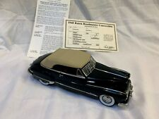 New Listing1948 Buick Roadmaster Convertible With Certificate - Danbury Mint - Regency Blue