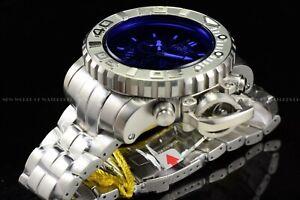 Invicta 70mm Full Sea Hunter Sun Rise in Antarctica Silver Blue Swiss SS Watch