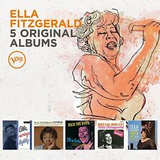 ELLA FITZGERALD - 5 ORIGINAL ALBUMS 5 CD NEUF