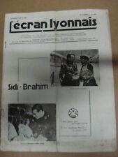 L'ECRAN LYONNAIS 09 06 1939 SIDI-BRAHIM René Dary Aimos Colette Darfeuil N° 976