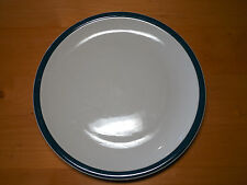 """Tienshan Kitchen Basics Green Band Dinner Plate 10 3/8""""         22 available"""