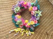 Bridal wedding table decorations wreath custom made to order choose your colors