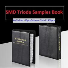 60 Values Smdsmt Sot 23 Transistor Triode Samples Book Assorted Kit Component