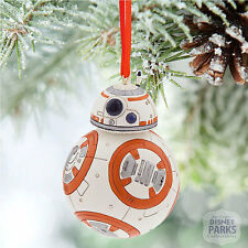 Disney Parks BB-8 Sketchbook Christmas Ornament - Star Wars: The Force Awakens