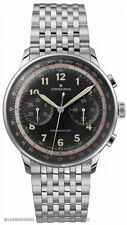Junghans Meister Telemeter Chronoscope Matte-Black Dial Numerals 027/3381.44