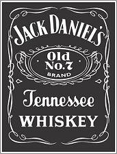 "Jack Daniels Whiskey Alcohol Sticker - wall, window, vinyl sticker 5""x3.8"""