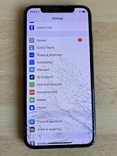 Apple iPhone X - Screen Cracked - 256GB - Space Gray (Unlock Sequence Received)