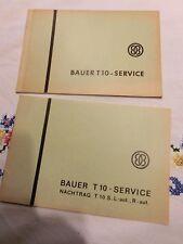 Bauer T10 Service + Nachtrag  Projektor