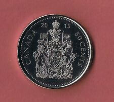 2010 CANADA HALF DOLLAR$  50¢  FIFTY CENT PIECE COIN CANADIAN NEW FROM MINT ROLL