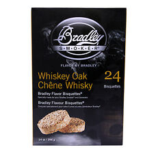 Bradley Technologies Smoker Bisquette Whiskey Oak Special Edition 24Pak Btwose24