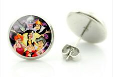 Disney Villain Earrings Character Earrings Ursela  Witch studs birthday gift