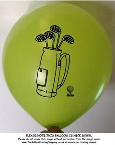 10 Golf Theme Latex Party Balloons Green Balloon Helium Club Ball Birthday Sport