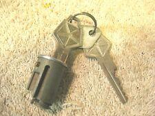 Vintage Chrysler ignition lock and keys.