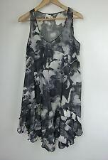 PORTMANS Dress Sz 10 Grey lilac print