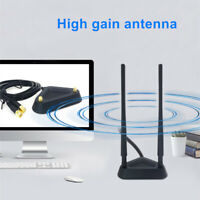 2.4GHz 5GHz WiFi 6dBi Antenna,Dual RP-SMA Connector For Asus Linksys Router AP