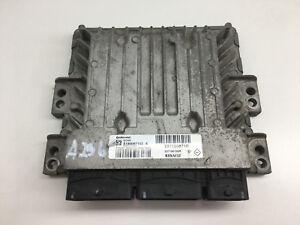 RENAULT KANGOO ENGINE CONTROL UNIT MOTORSTEUERGERÄT ECU 237100755R S180067153A